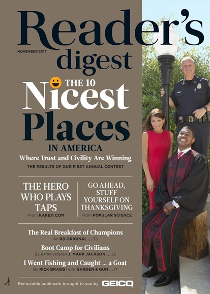 Reader's Digest Cover - 11/1/2017
