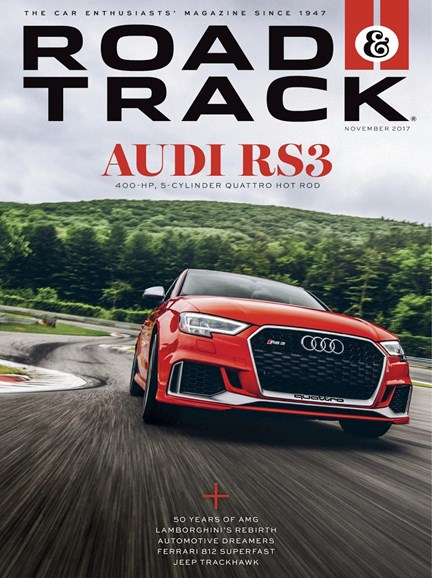Road & Track Cover - 11/1/2017