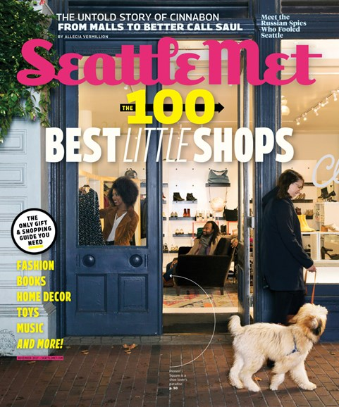 Seattle Met Cover - 11/1/2017