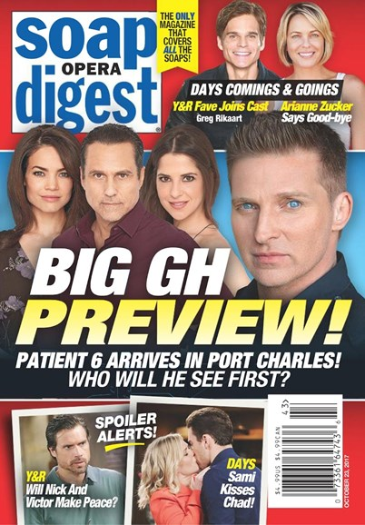 Soap Opera Digest Cover - 10/23/2017