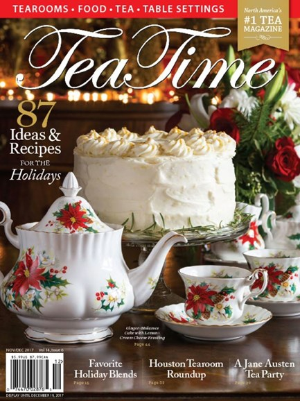 Tea Time Cover - 11/1/2017