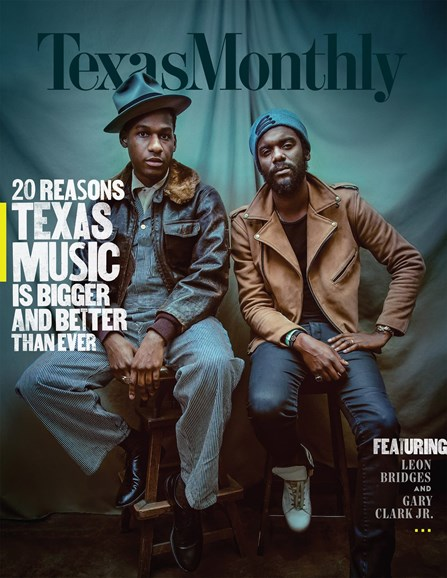 Texas Monthly Cover - 11/1/2017