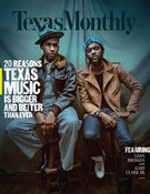 Texas Monthly Magazine 11/1/2017