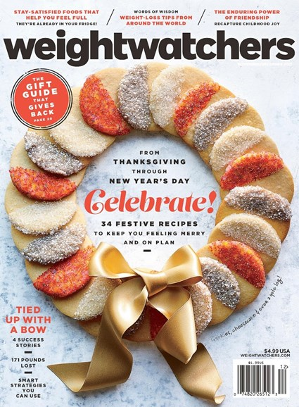 Weight Watchers Magazine Cover - 11/1/2017