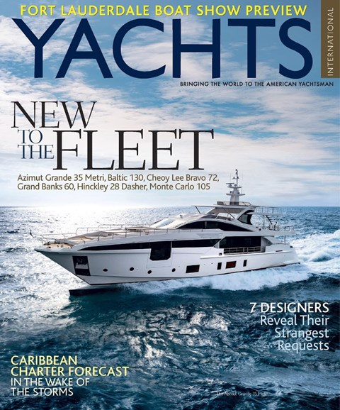 Yachts International Cover - 11/1/2017