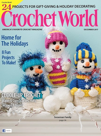 Crochet World Cover - 12/1/2017