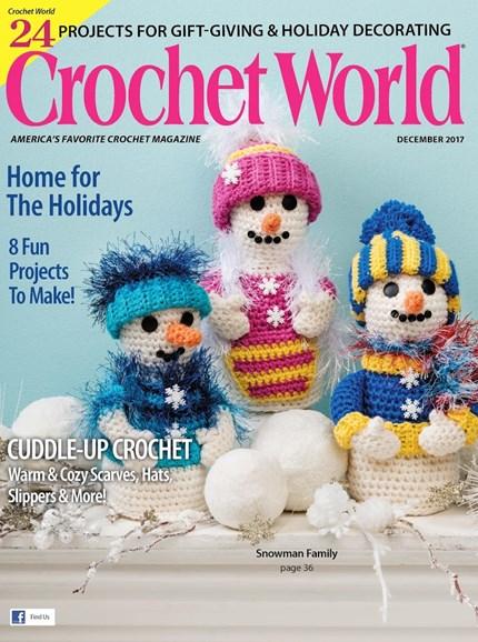 Crochet World Cover - 12/1/2017