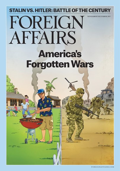 Foreign Affairs Cover - 11/1/2017