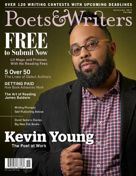 Poets & Writers Cover - 11/1/2017