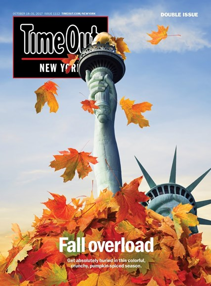Time Out New York Cover - 10/18/2017