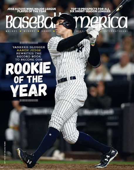 Baseball America Cover - 10/20/2017