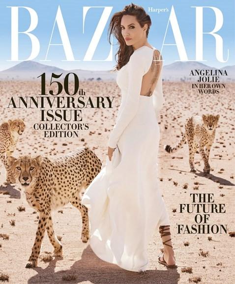 Harper's Bazaar Cover - 11/1/2017