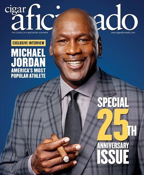 Cigar Aficionado Cover - 11/1/2017