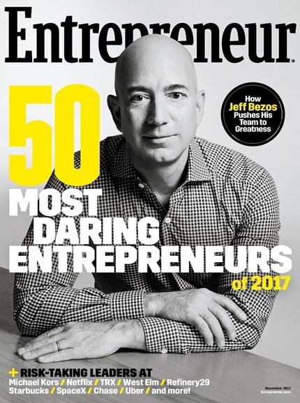 Entrepreneur Cover - 11/1/2017