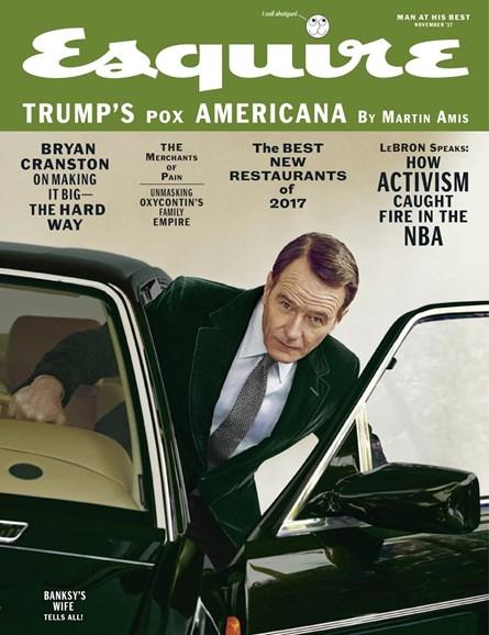 Esquire Cover - 11/1/2017