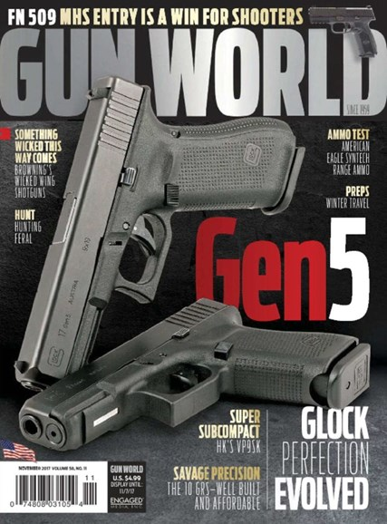 Gun World Cover - 11/1/2017