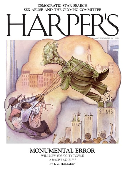 Harper's Cover - 11/1/2017