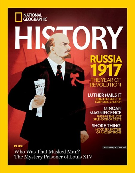 National Geographic History Cover - 9/1/2017