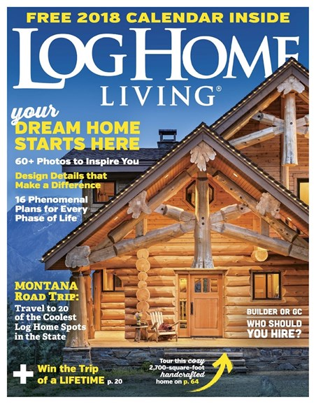 Log Home Living Cover - 11/1/2017