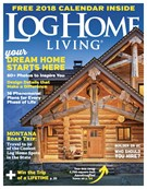 Log Home Living Magazine 11/1/2017