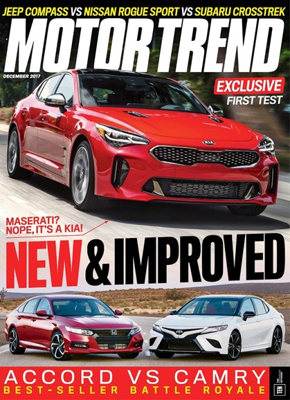 Motor Trend Cover - 12/1/2017