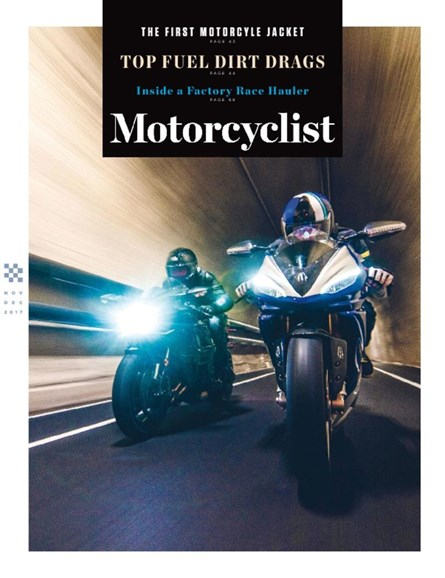 Motorcyclist Cover - 11/1/2017
