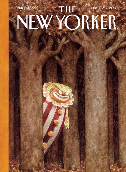 The New Yorker Cover - 10/30/2017