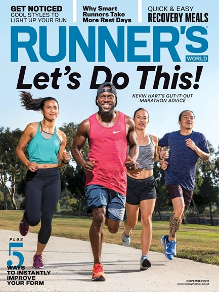 Runner's World Cover - 11/1/2017
