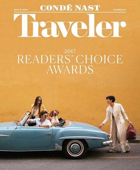 Condé Nast Traveler Cover - 11/1/2017