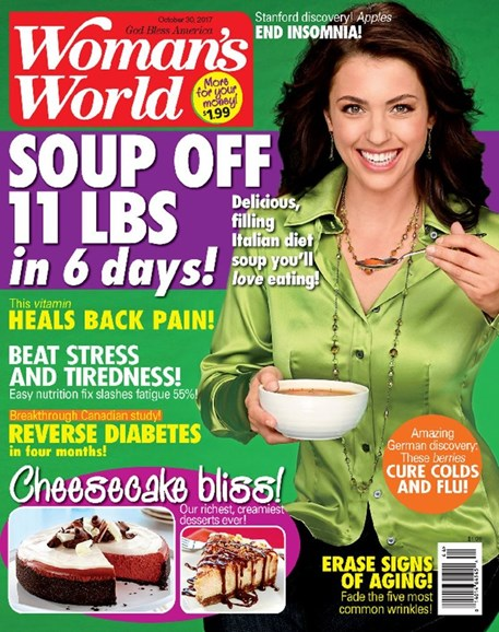 Woman's World Cover - 10/30/2017