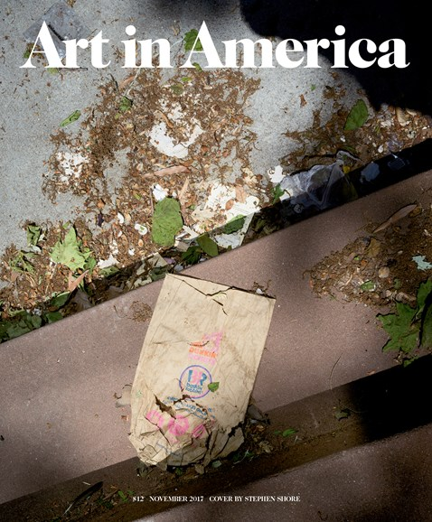 Art In America Cover - 11/1/2017