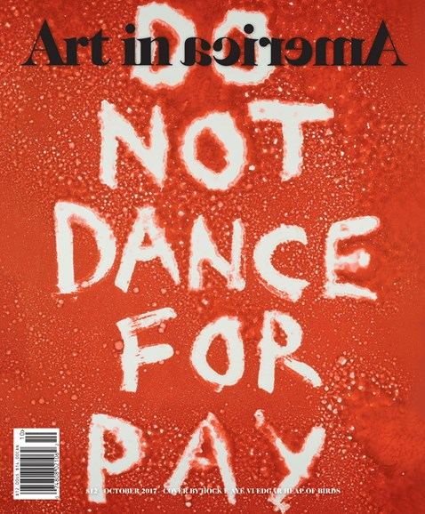 Art In America Cover - 10/1/2017