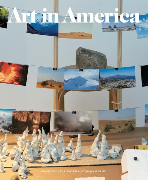 Art In America Cover - 6/1/2013