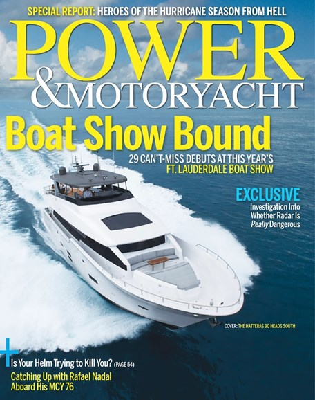 Power & Motoryacht Cover - 11/1/2017
