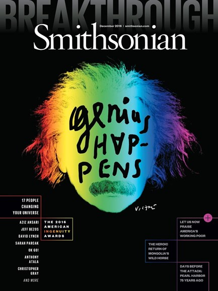 Smithsonian Cover - 12/1/2016