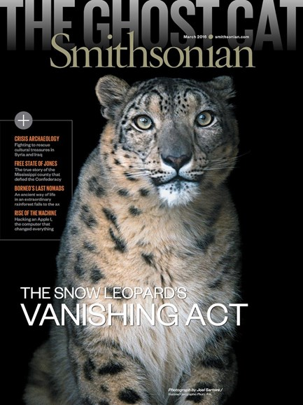 Smithsonian Cover - 3/1/2016