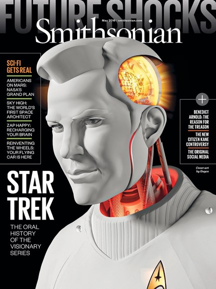 Smithsonian Cover - 5/1/2016