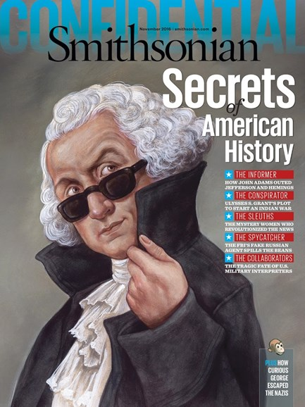 Smithsonian Cover - 11/1/2016