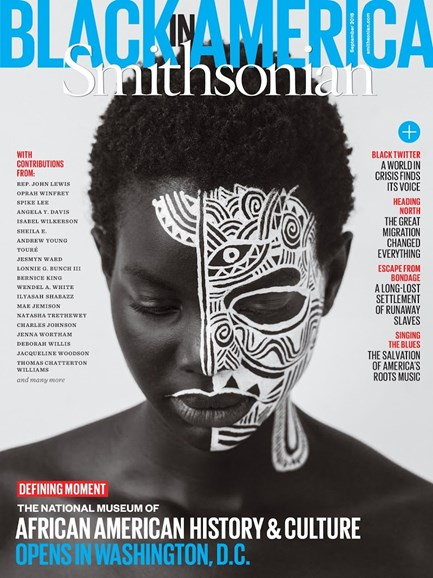 Smithsonian Cover - 9/1/2016