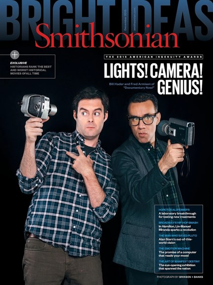 Smithsonian Cover - 12/1/2015