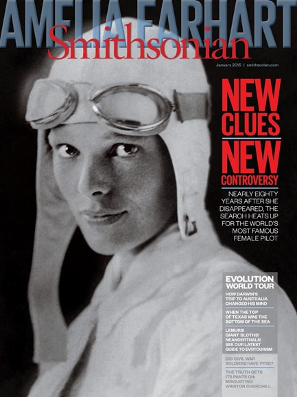 Smithsonian Cover - 1/1/2015