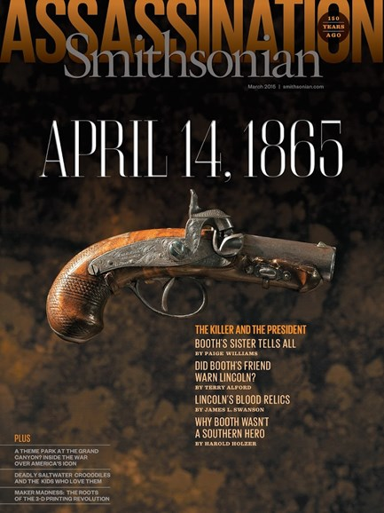 Smithsonian Cover - 3/1/2015