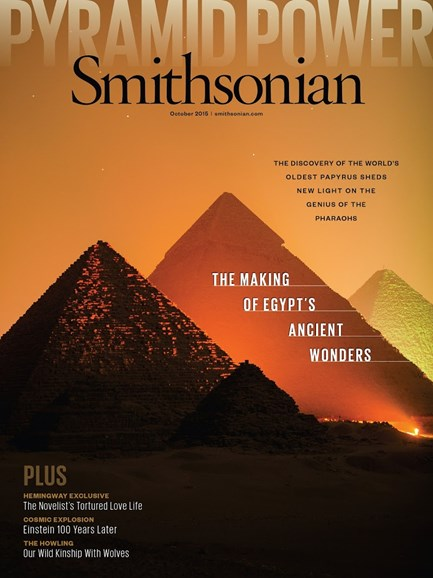Smithsonian Cover - 10/1/2015