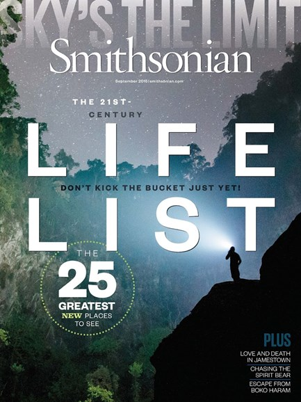 Smithsonian Cover - 9/1/2015