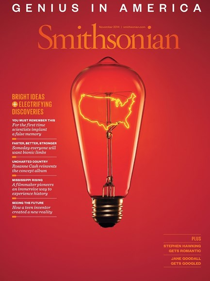 Smithsonian Cover - 11/1/2014