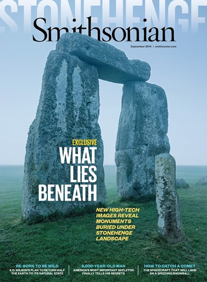 Smithsonian Cover - 9/1/2014