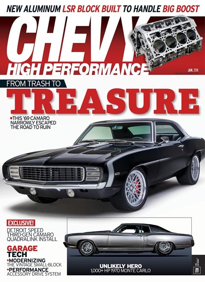 Chevy High Performance Cover - 1/1/2018