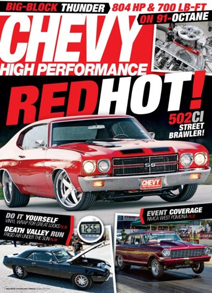 Chevy High Performance Cover - 2/1/2013