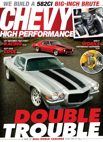 Chevy High Performance Cover - 1/1/2013