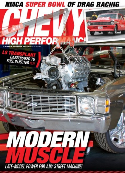Chevy High Performance Cover - 3/1/2013